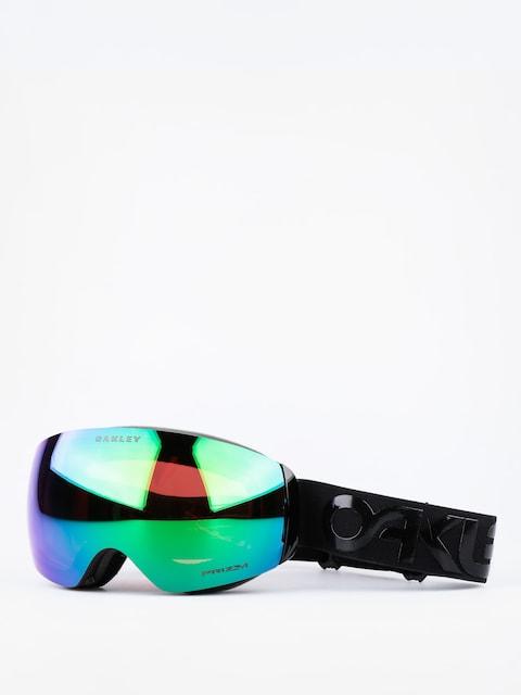 Okuliare na snowboard Oakley Flight Deck Xm Fp (blakcout w/prizm jade iridium)