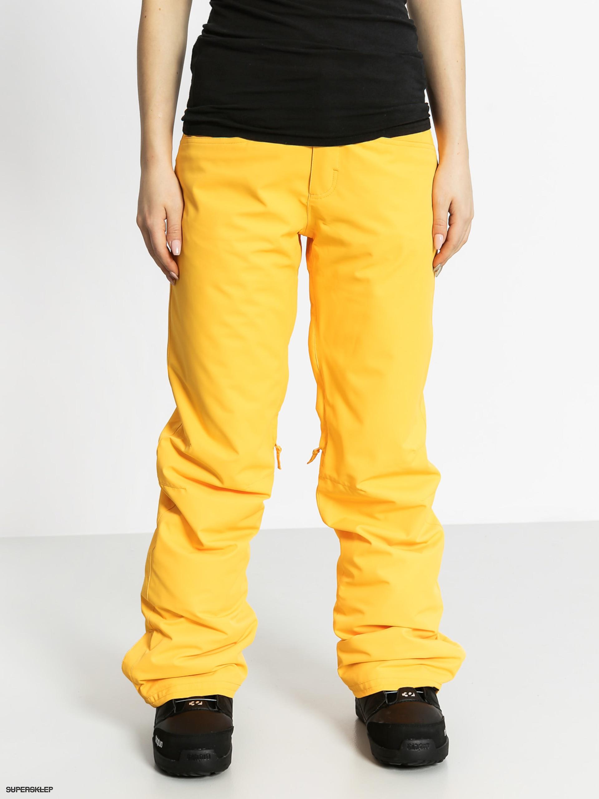 c06d2bd5d444 Snowboardové nohavice Roxy Backyard Wmn (blazing yellow)