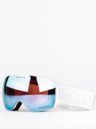 Okuliare na snowboard Oakley Flight Deck (factory pilot whiteout w/przm sapphire)