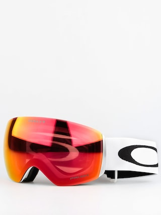 Okuliare na snowboard Oakley Flight Deck (matte white w/prizm torch)