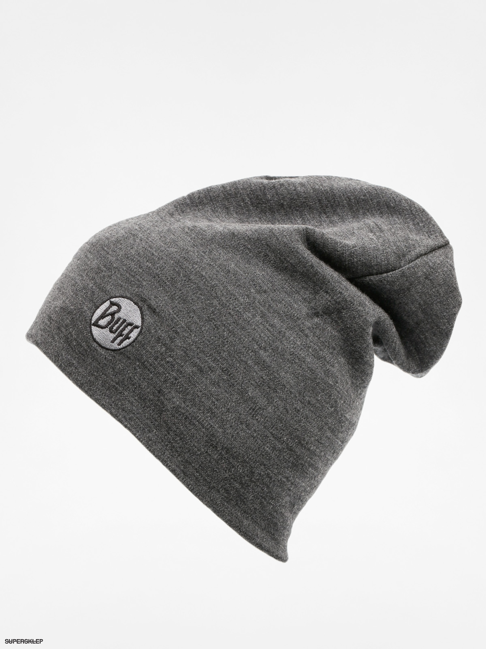 96622da61 Buff Čiapka Merino Wool Thermal (solid grey)