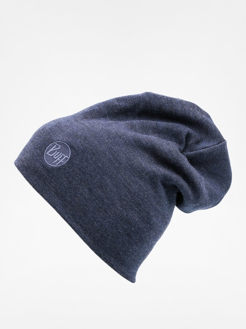Buff Čiapka Merino Wool Thermal (solid denim)