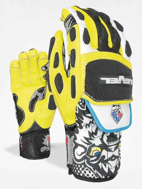 Rukavice Level Worldcup CF (black/yellow)