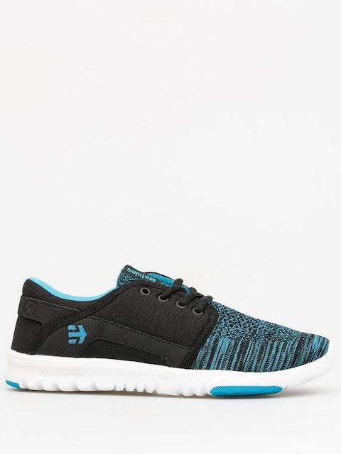 Topánky Etnies Scout YB Wmn (black/blue)