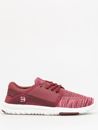 Topánky Etnies Scout YB Wmn (burgundy)