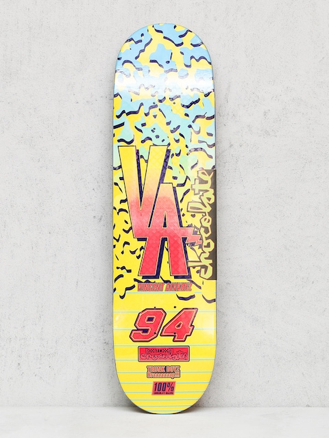 Doska Chocolate Alvarez Braaaap (yellow/blue)