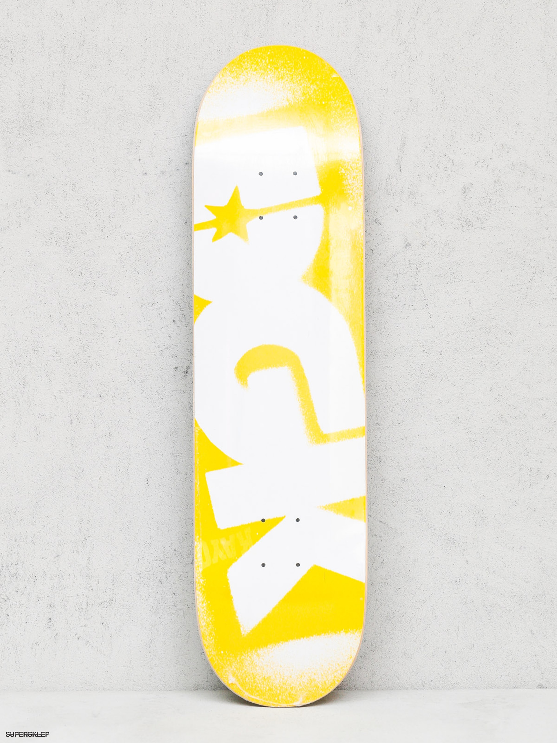 Doska DGK Price Point (yellow/white)