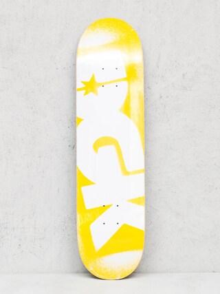 Doska DGK Price Point (yellow/white)