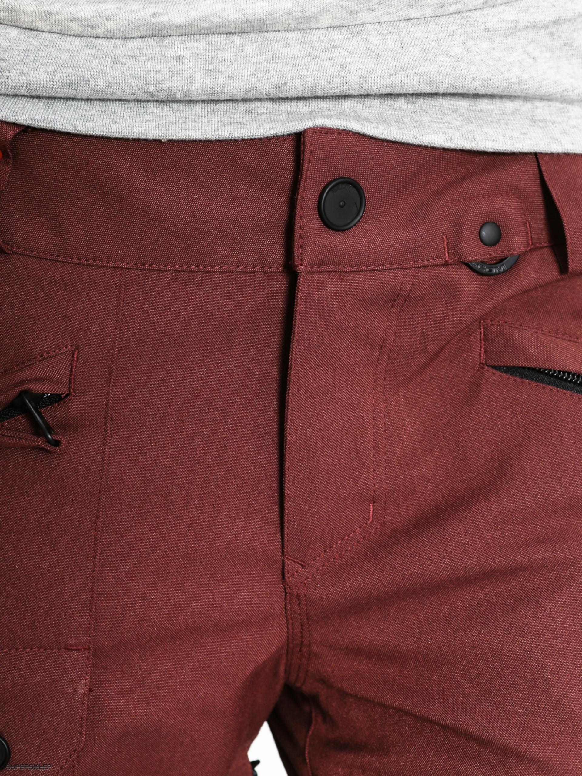 488ff43d5588 Snowboardové nohavice Volcom Diablo Wmn (bur)