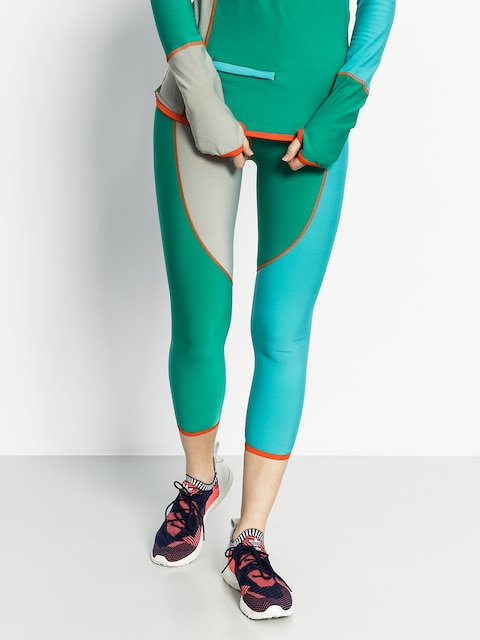 Termolegíny Majesty Surface Lady Base Layer Pants Wmn (green/teal)