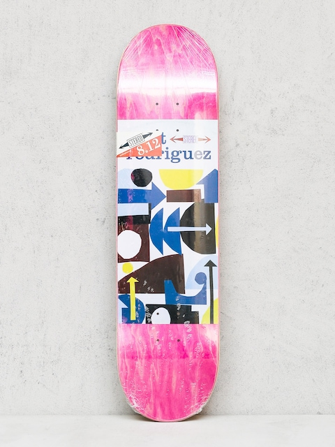 Doska Stereo Rodriguez Collage (pink/white)