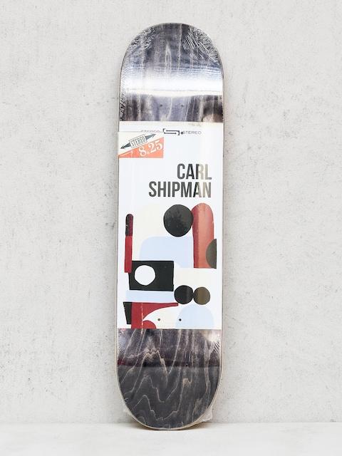 Doska Stereo Shipman Collage (black/white)