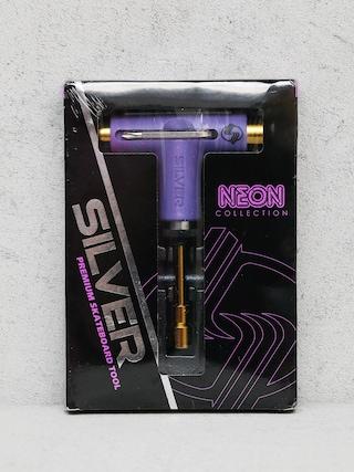Ku013eu00fau010d Silver Tool Neon (purple/gold)