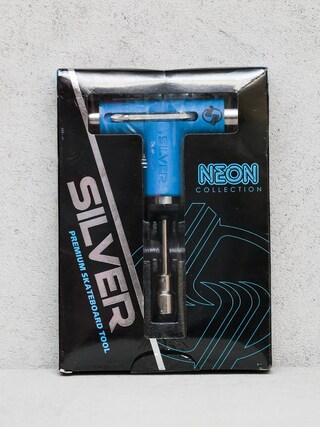 Kľúč Silver Tool Neon (blue/silver)