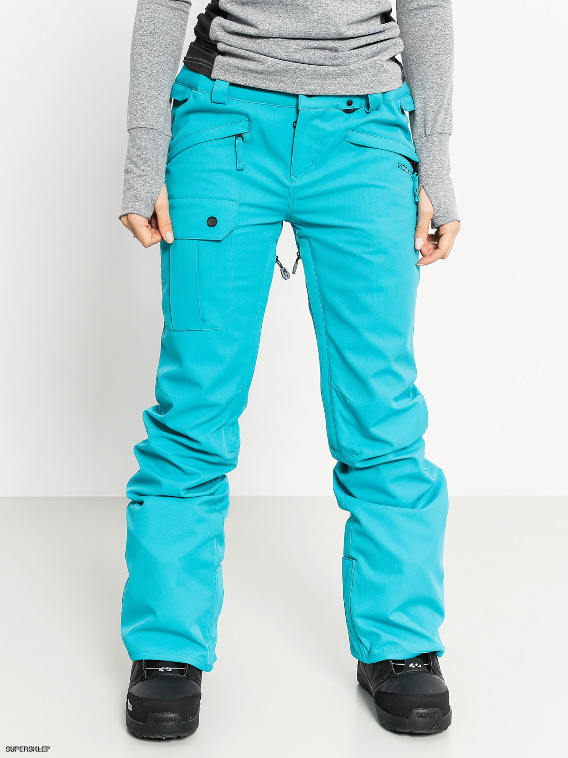 2b43d5594c5a Snowboardové nohavice Volcom Diablo Wmn (tel)