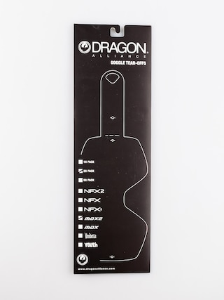 Ochranná fólia Dragon MDX2 (tear off 20 pack)