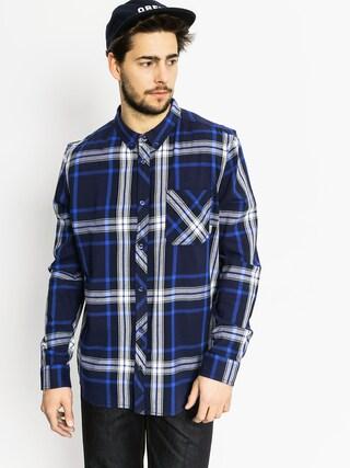 Košeľa Element Buffalo LS (midnight blue)