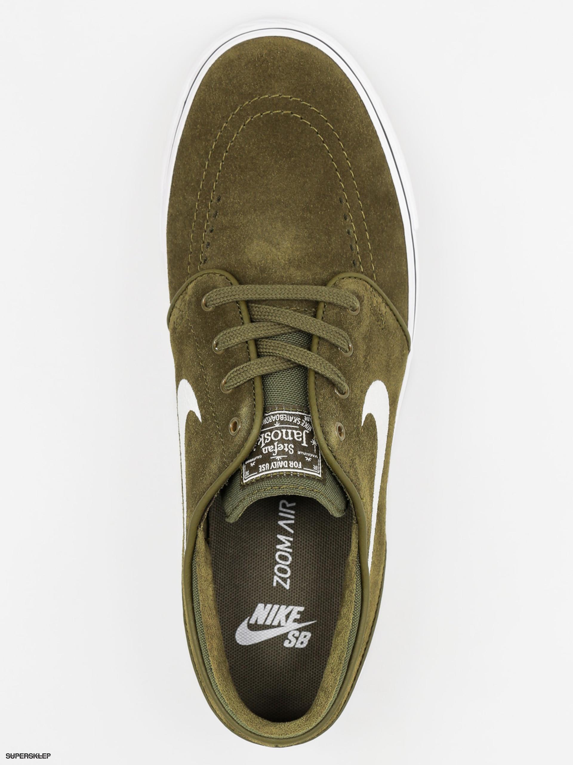 Topánky Nike SB Zoom Stefan Janoski (legion green white black) 6001d1228cb5