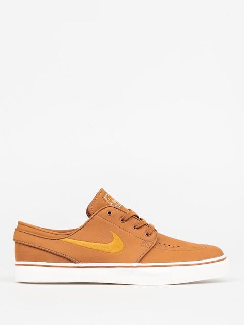 Topánky Nike SB Zoom Stefan Janoski L (ale brown/desert ochre sail)