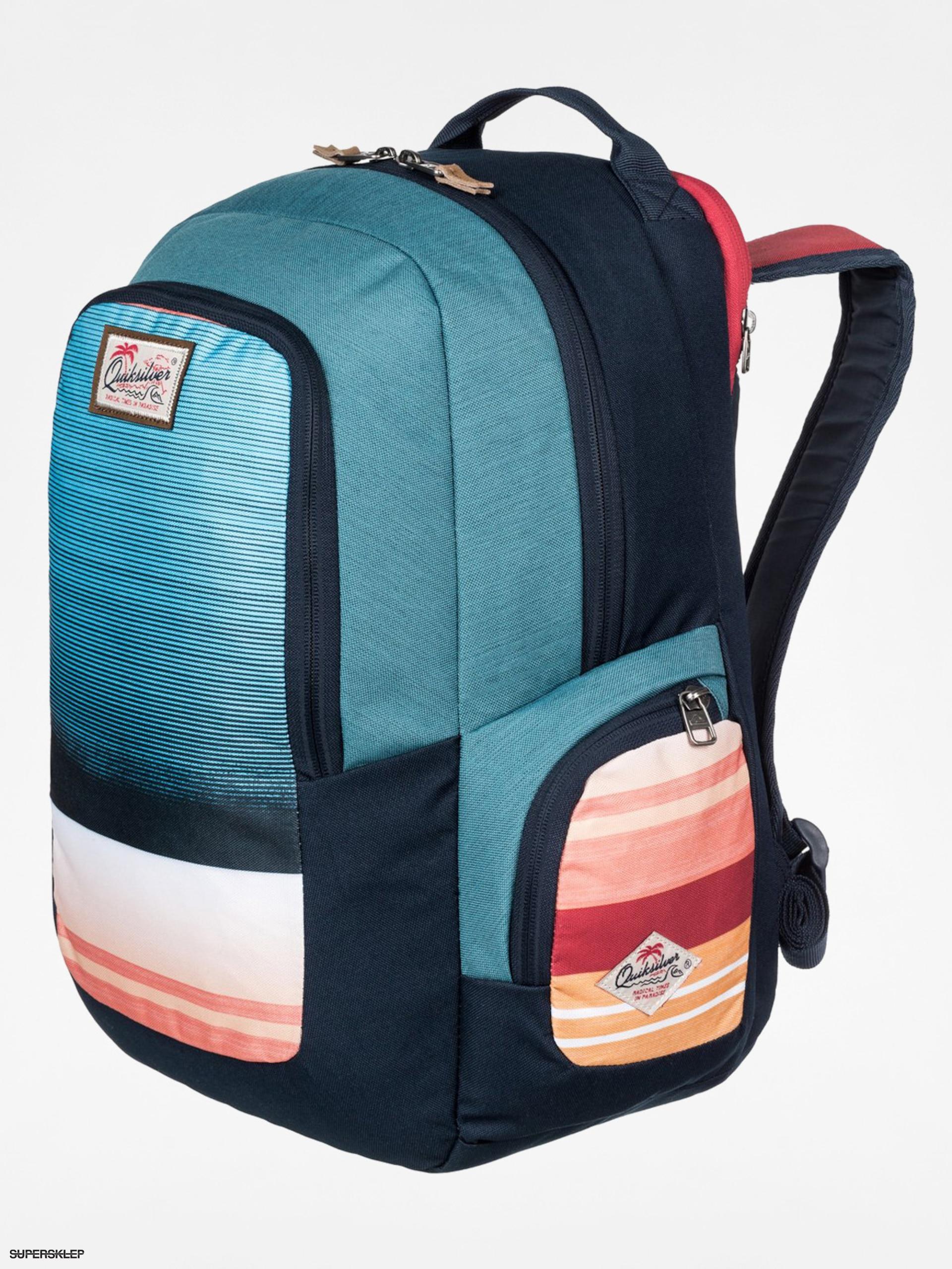 807f764b40 Batoh Quiksilver Schoolie (navy blue orange)