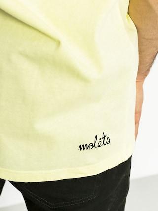 Tričko Malita Badminton (pinacolada)