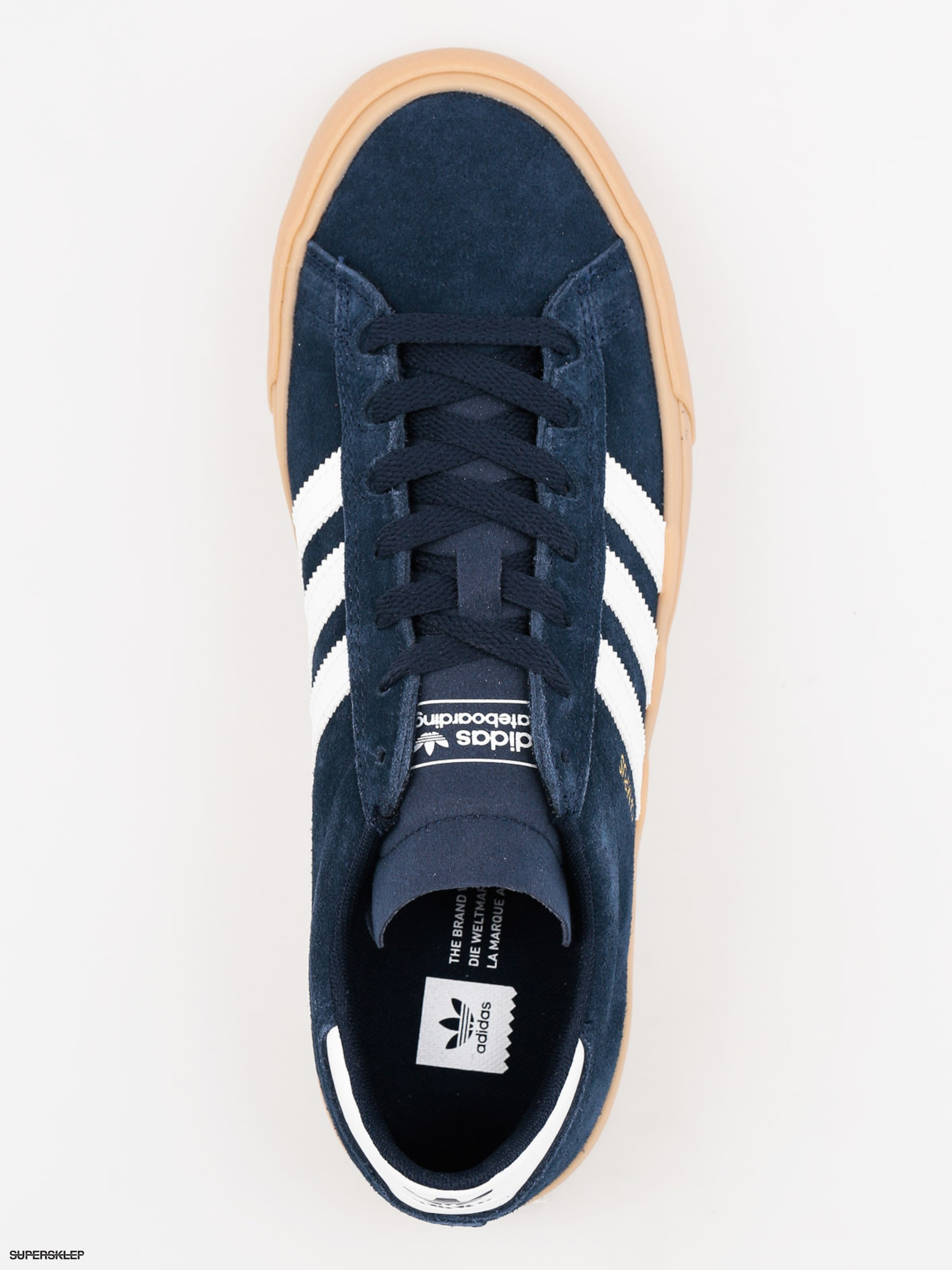 finest selection 700e7 60780 Topánky adidas Campus Vulc II Adv (conavyftwwhtgum4)