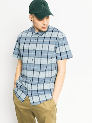 Košeľa Quiksilver Everyday Check (stone blue)