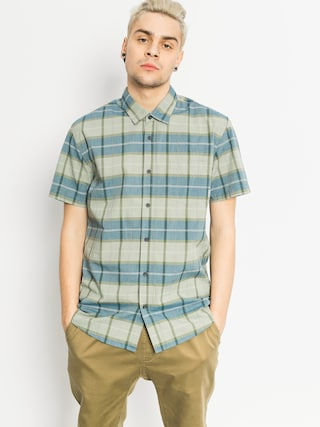 Košeľa Quiksilver Everyday Check (iceberg green)