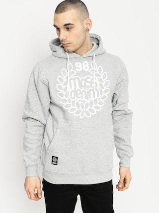 Mikina s kapucňou MassDnm Base HD (grey heather)