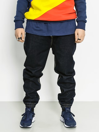 Nohavice MassDnm Drop Jogger Loose Fit (dark navy)