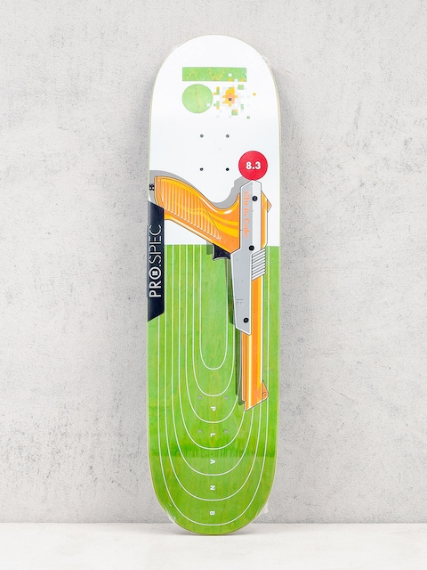 Doska Plan B Chris Cole Heat (white/green/orange)