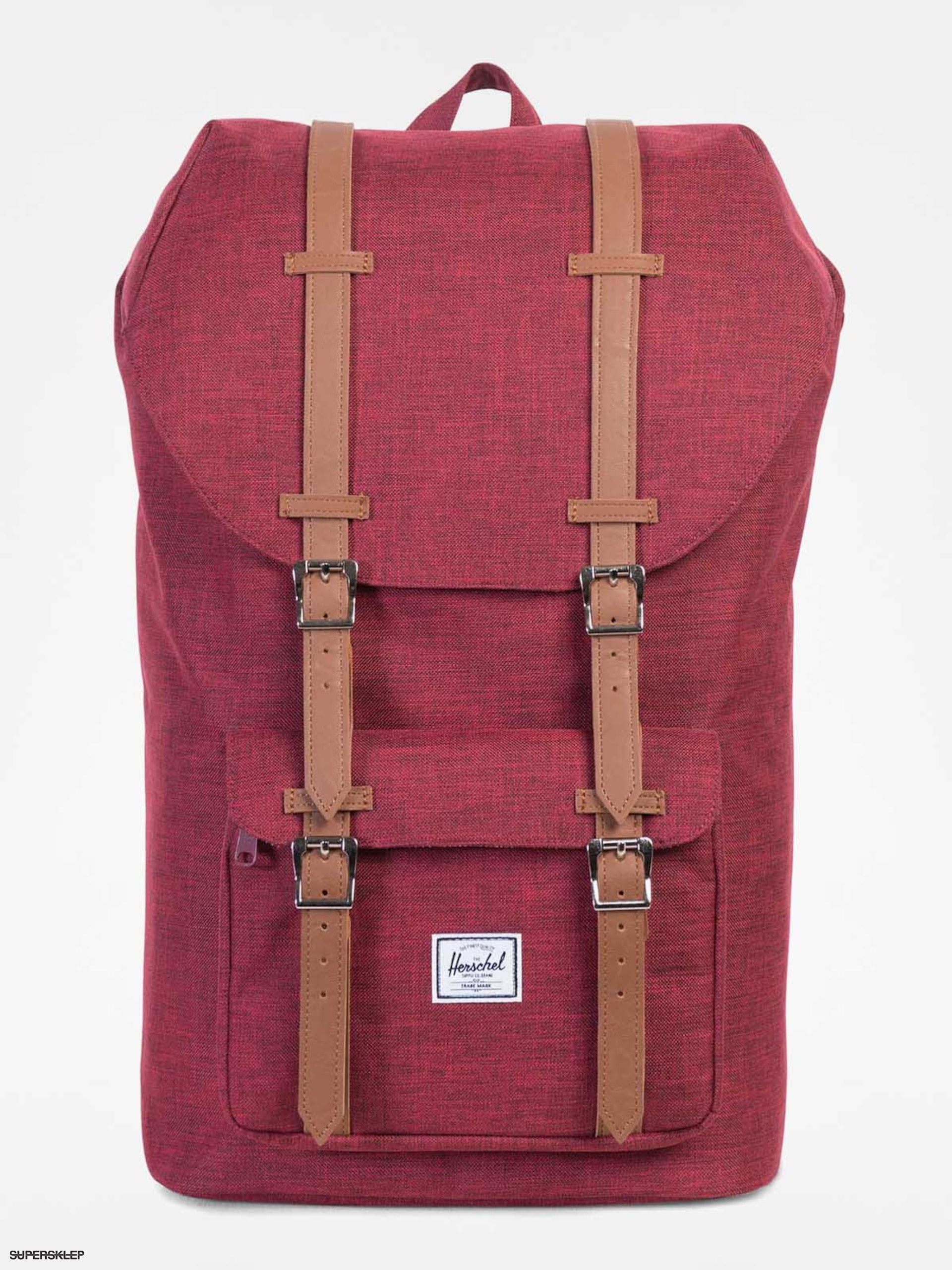 Batoh Batoh Herschel Supply Co. Little America (winetasting crosshatch/tan 25l)