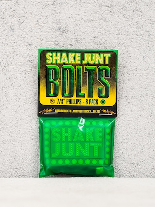 Skrutky Shake Junt Bolts Phillips (black/green 7/8