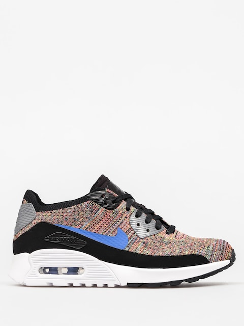 Topánky Nike Air Max 90 Wmn (Ultra 2 0 Flyknit black/medium blue cool grey)