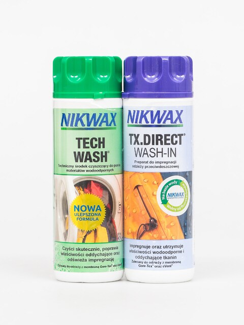 Impregnačný prostriedok Nikwax Twin Tech Wash Tx Direct Wash In (2x300ml)