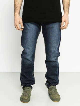 Nohavice MassDnm Classic Straight Fit (navy)