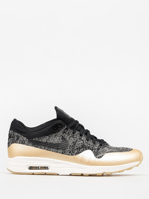 Topánky Nike Air Max 1 Wmn (Ultra 2.0 Flyknit Metallic black/black mtlc gold star)