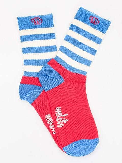 Ponožky Malita Wanted (bright blue)