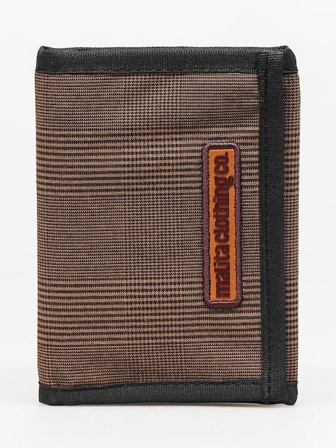 Peňaženka Malita Checked (brown/black)