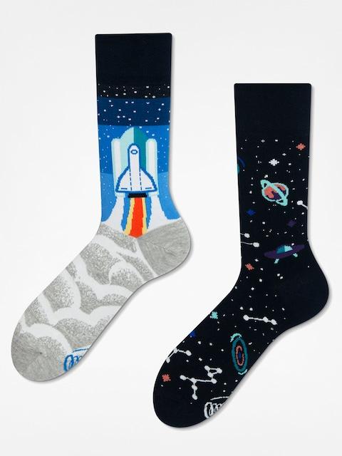 Ponožky Many Mornings Space Trip (grey/blue/black)