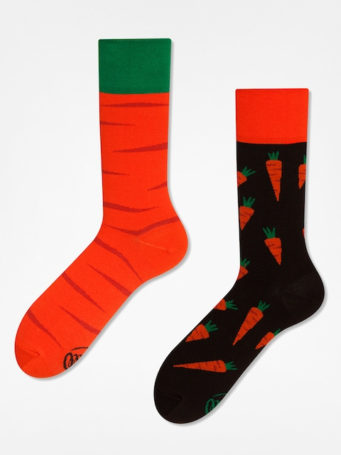 Ponožky Many Mornings Garden Carrots (orange/brown)