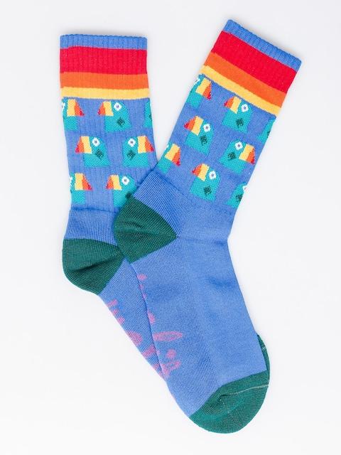 Ponožky Malita Toucan (blue)