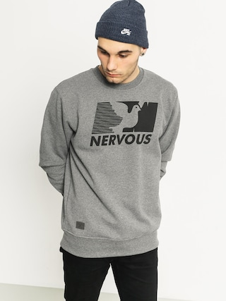Mikina Nervous Broadcast Crew (grey)