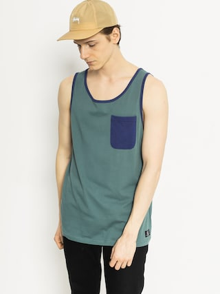 Tričko DC Contra Tank (sea green/navy)