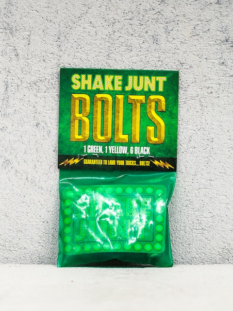 Skrutky Shake Junt Bolts Phillips (black/green/yellow)
