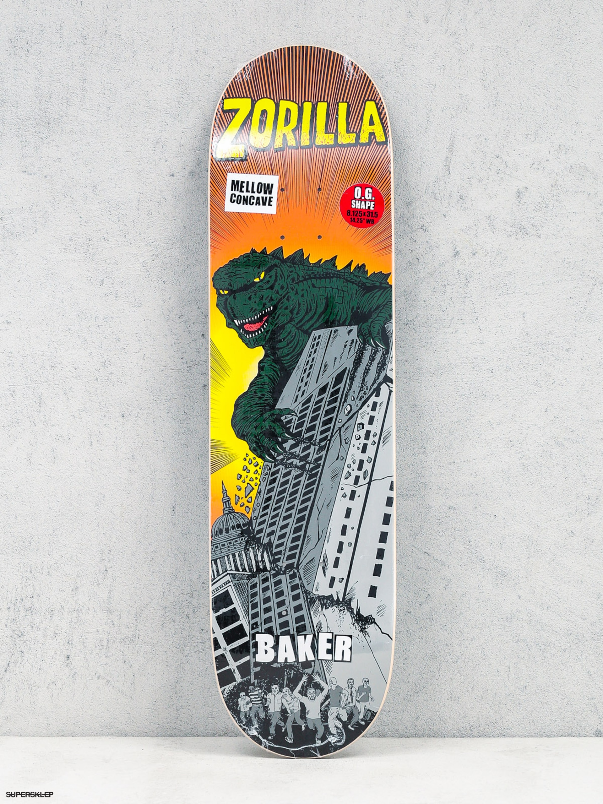 Doska Baker Rz Rozilla (orange/green)