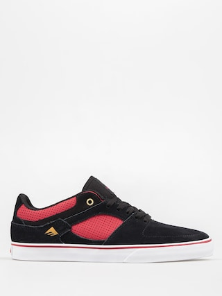 Topánky Emerica The Hsu Low Vulc (black/red)