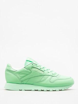Tenisky Reebok Cl Lthr Pastels Wmn (mint green/white)