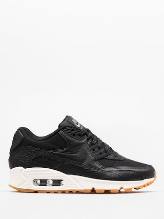 Topánky Nike Air Max 90 Wmn (Prm Lea black/black dark grey ivory)