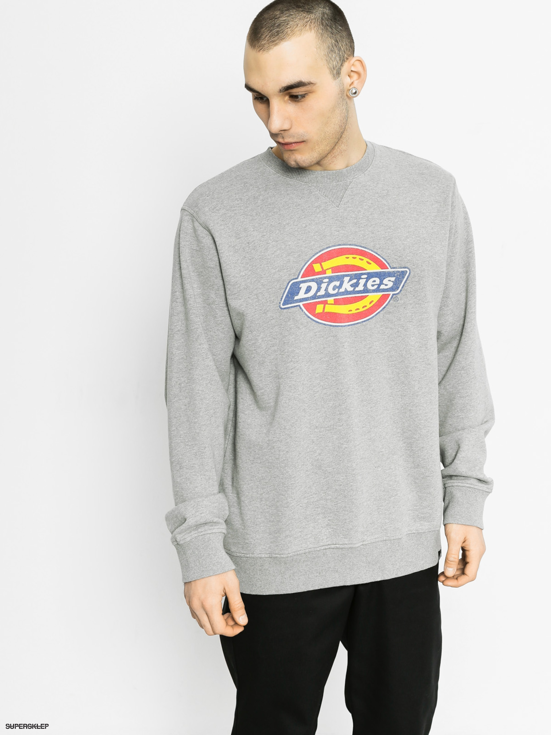 Mikina Dickies Hs Sweat (grey melange)
